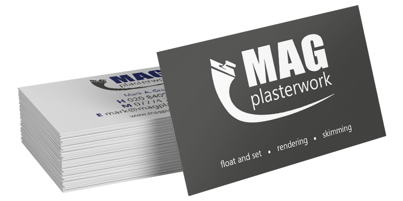 Printing reputation builder make a lasting first impression with our premium business cards or spread the word about your business with some printed flyers reheart Gallery